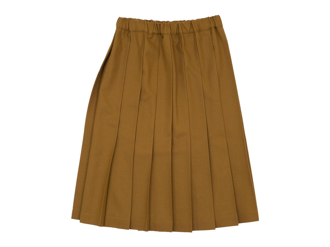 Charpentier de Vaisseau Belle プリーツスカート Wool  / Brisa プリーツスカート Long Wool
