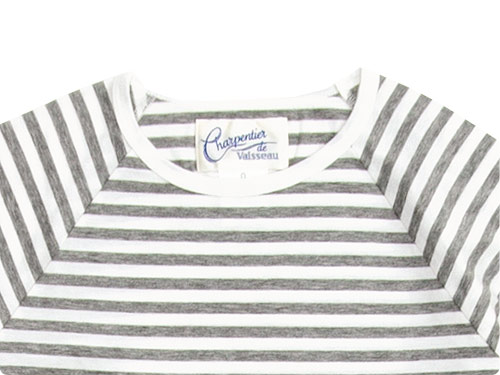 Charpentier de Vaisseau Middle Stripe Long Sleeve Tee