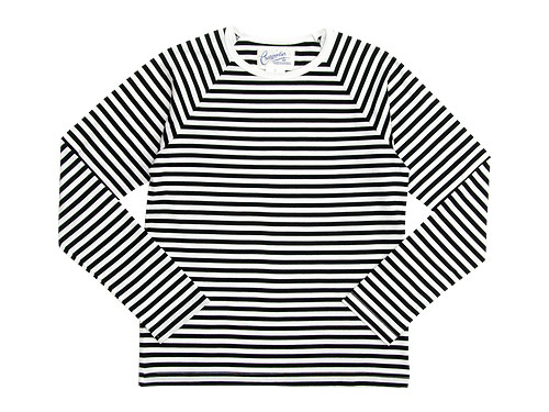 Charpentier de Vaisseau Middle Stripe Long Sleeve Tee / V Neck Cardigan