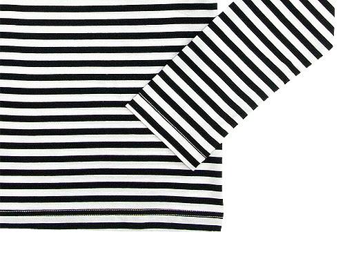 Charpentier de Vaisseau Middle Stripe Long Sleeve Tee