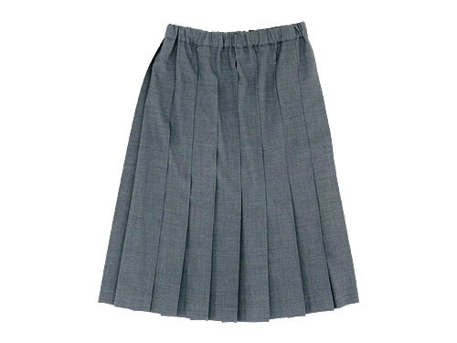Charpentier de Vaisseau Pleated Skirt
