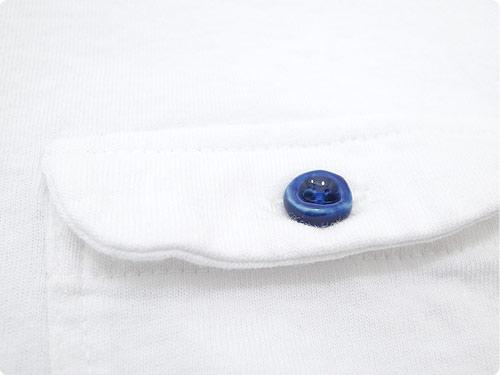 EEL 陶器釦のポケットT