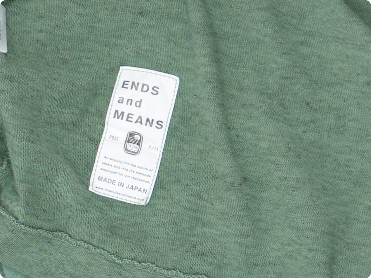 ENDS and MEANS Pocket Tee