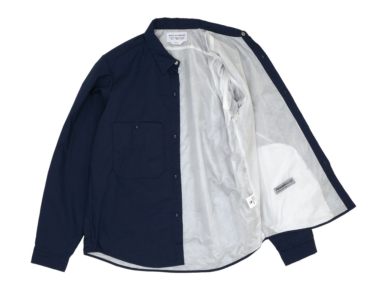 ENDS and MEANS Puff Shirts Jacket
