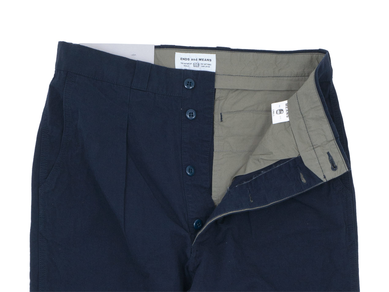 ENDS and MEANS Army Chino