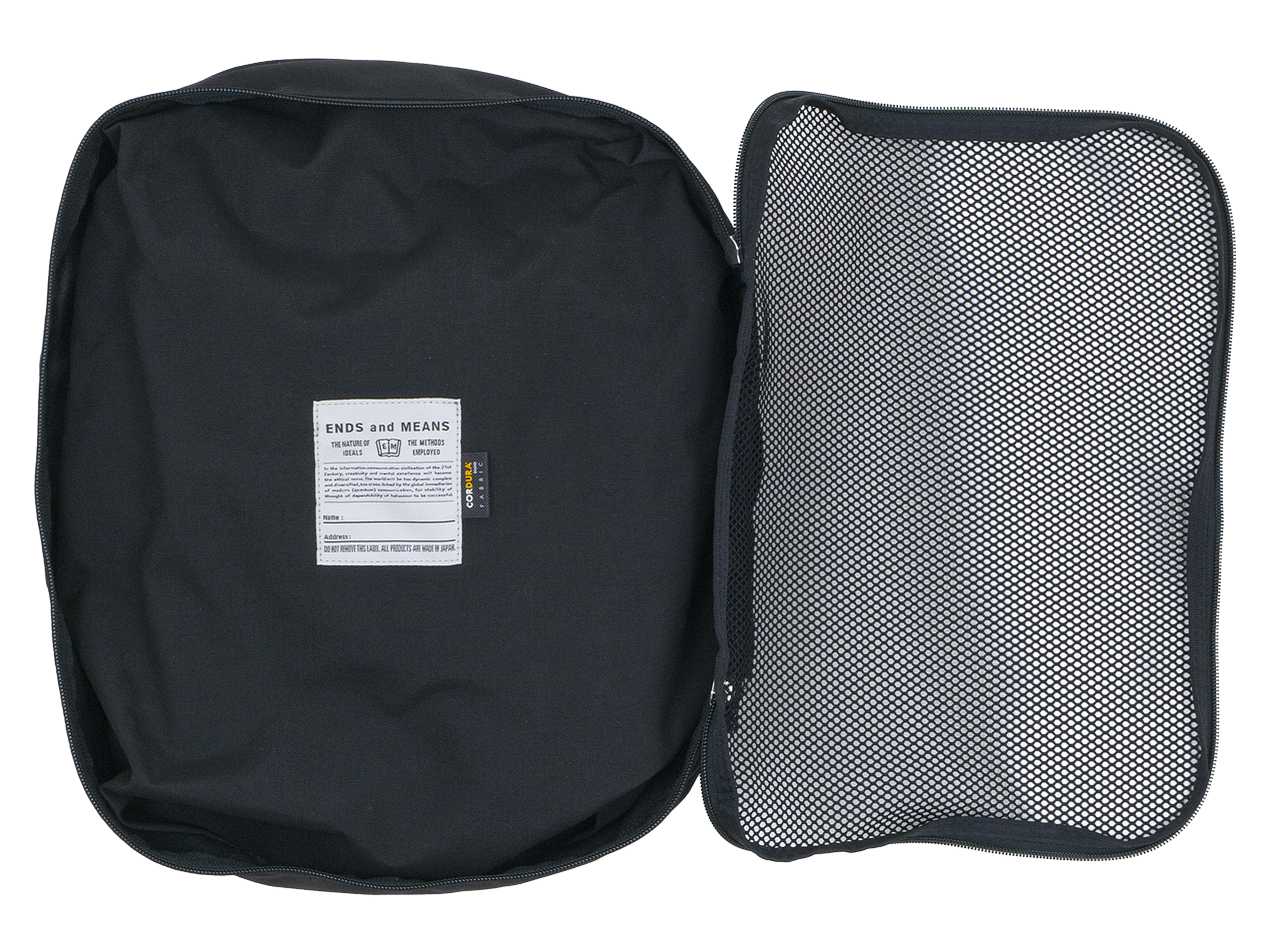 ENDS and MEANS Travel Pouch M