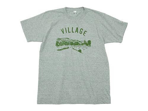 ENDSsndMEANS villageTシャツ