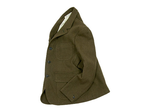 ENDS and MEANS Granpa Wool Jacket / Grandpa Wool Trousers / Refugee Duffle Bag