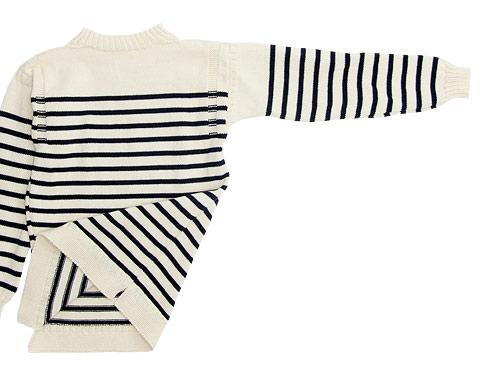 Guernsey Woollens Traditional guernsey stripe