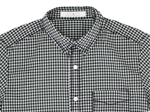 homspun 80/1ギンガム レギュラーシャツ