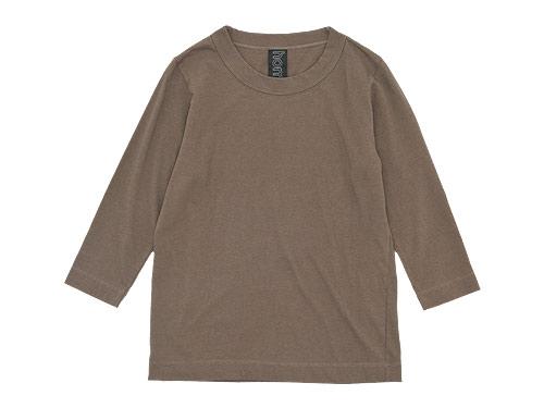 homspun 天竺七分袖Tシャツ / 長袖Tシャツ / 丸胴テレコ ノースリーブ