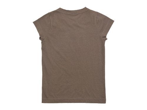 homspun 天竺フレンチスリーブTシャツ