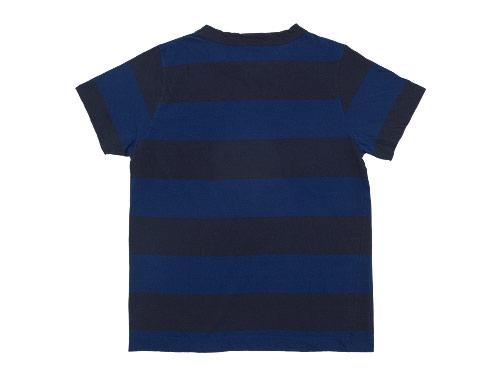 homspun 30/1天竺太ボーダー 半袖Tシャツ