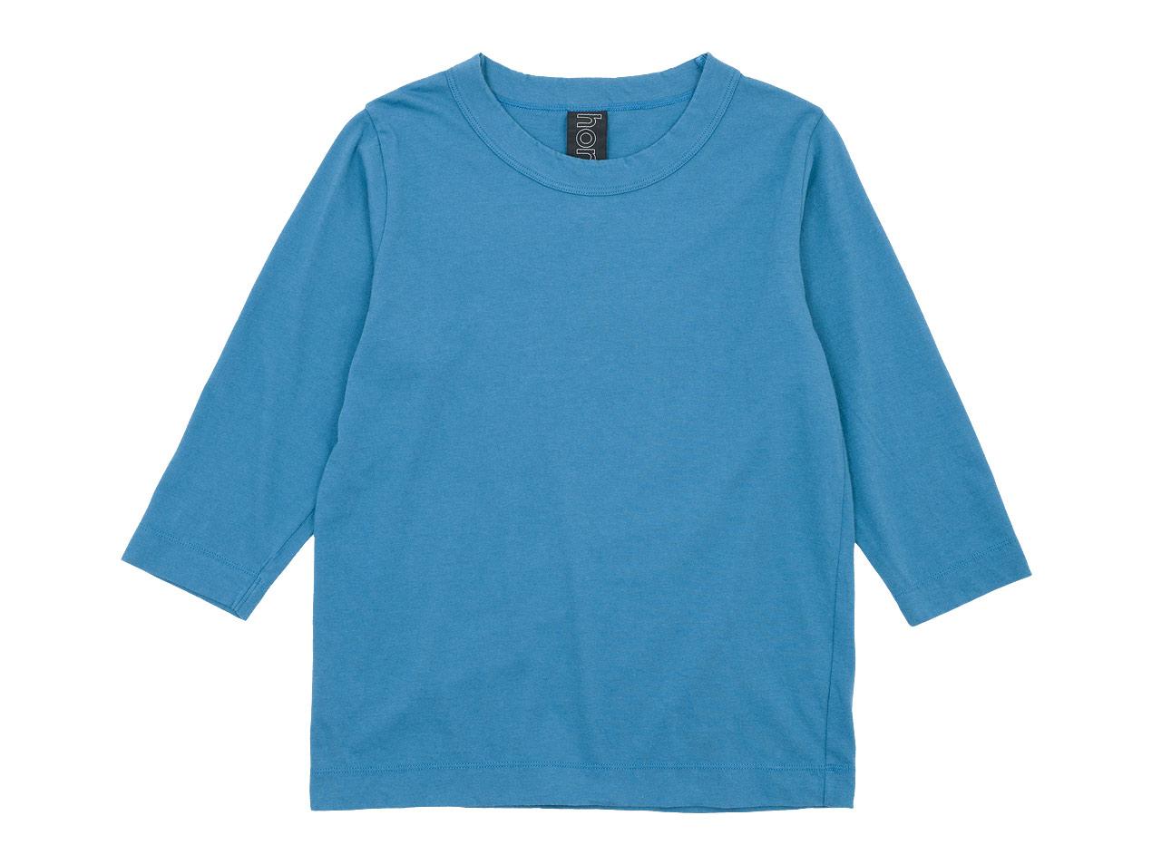 homspun 30/1天竺 七分袖Tシャツ / 長袖Tシャツ
