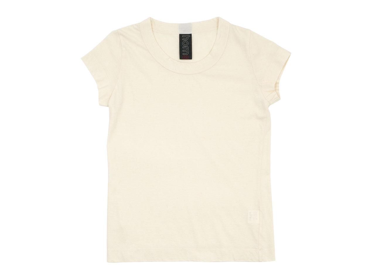 homspun 30/1天竺 フレンチスリーブTシャツ