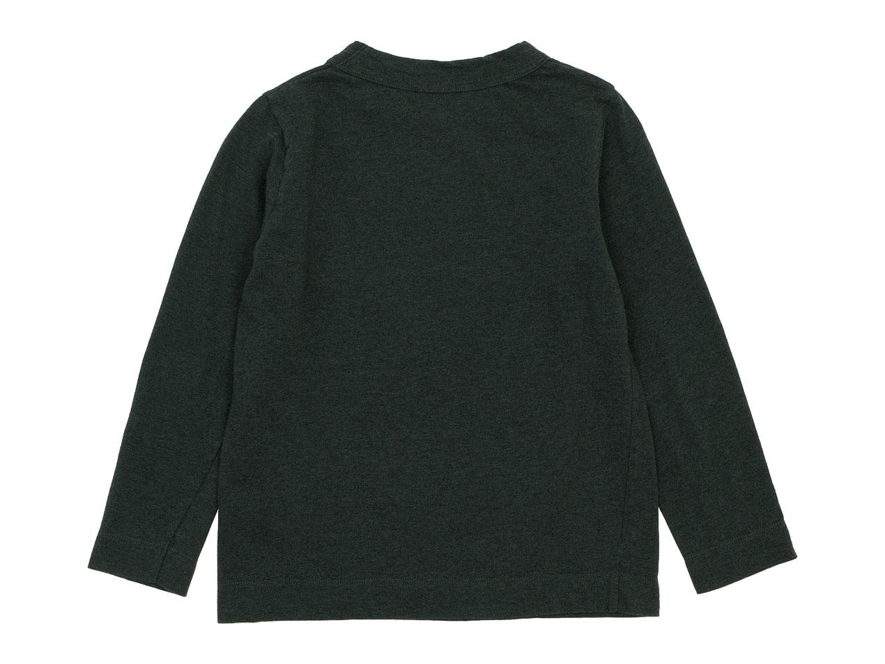 【Kid's】 homspun 30/1天竺 長袖Tシャツ