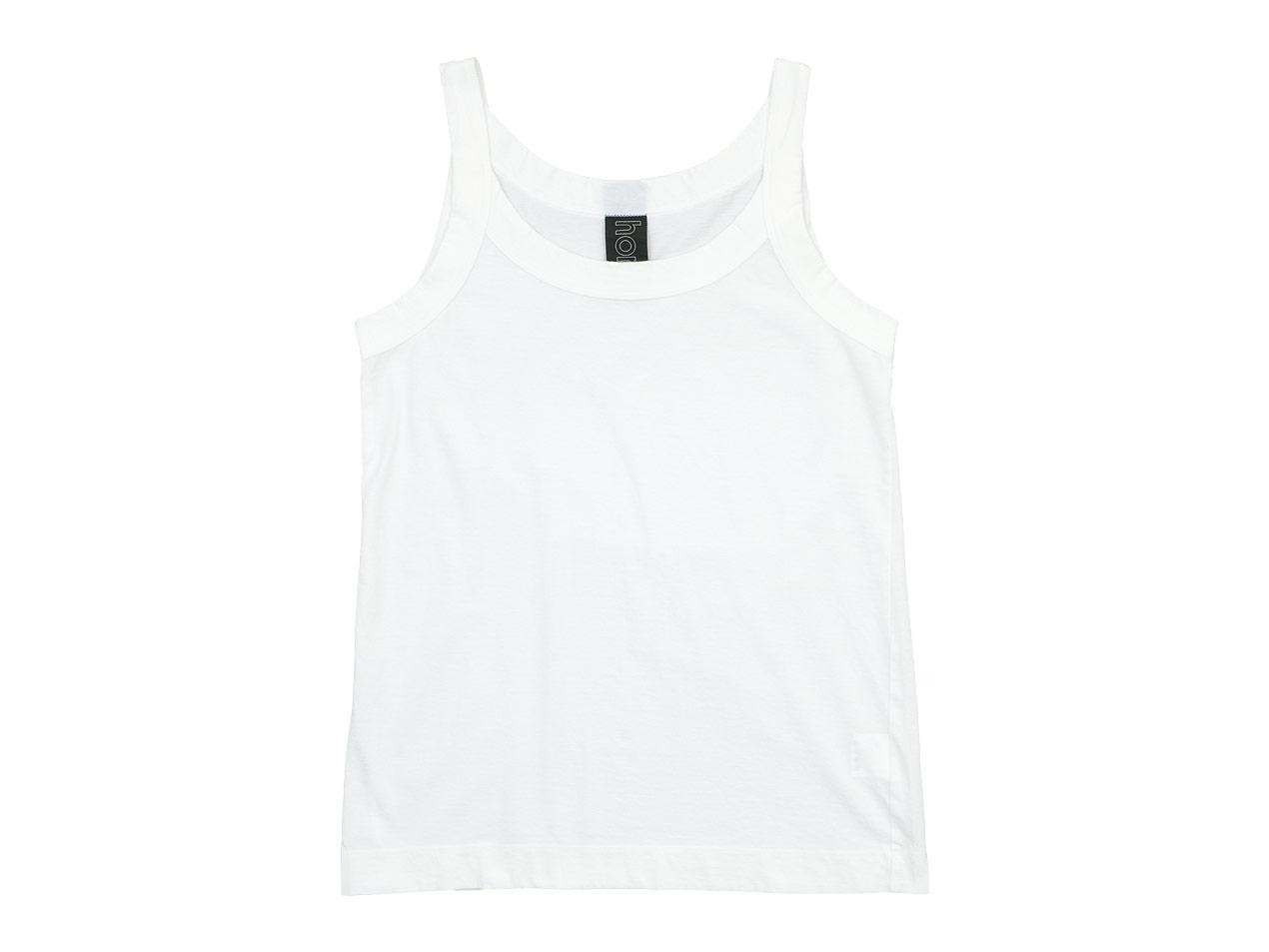 homspun 30/1天竺 キャミソール / フレンチスリーブTシャツ / 五分袖Tシャツ