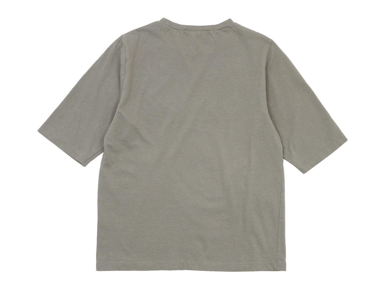homspun 30/1天竺 五分袖Tシャツ