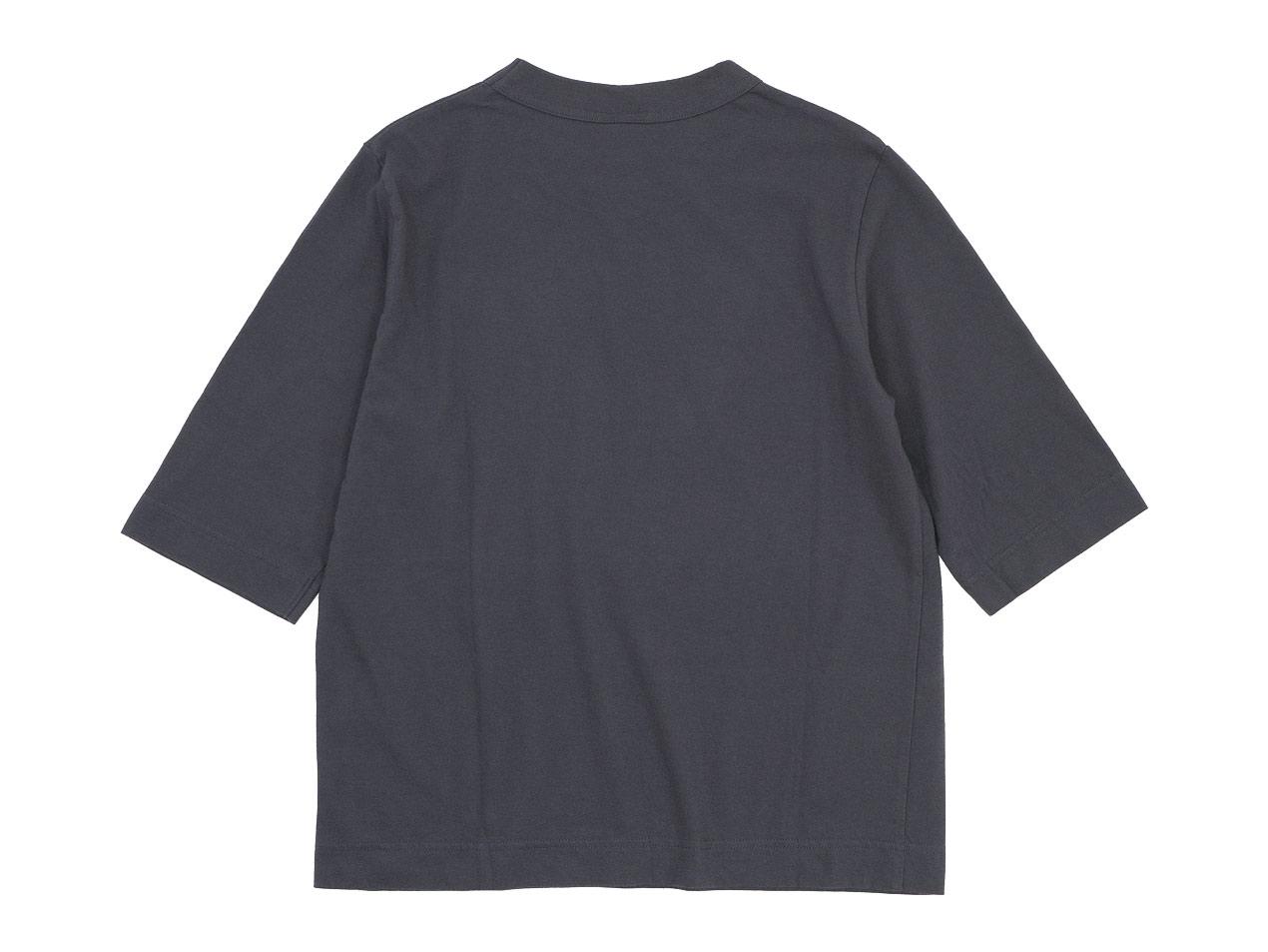 homspun 天竺六分袖Tシャツ
