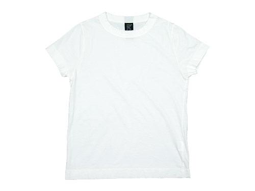 【再入荷】 homspun 天竺半袖Tシャツ / 天竺ミディ丈スパッツ