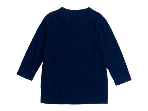 homspun 天竺七分袖Tシャツ