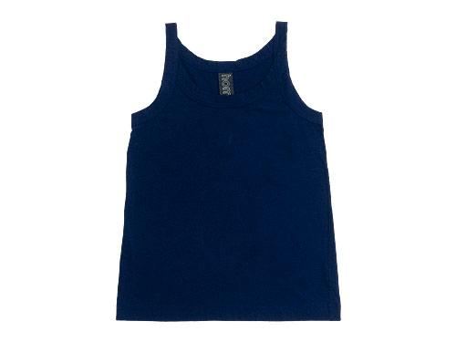 【再入荷】 homspun 天竺キャミソール / フレンチスリーブTシャツ / 半袖Tシャツ