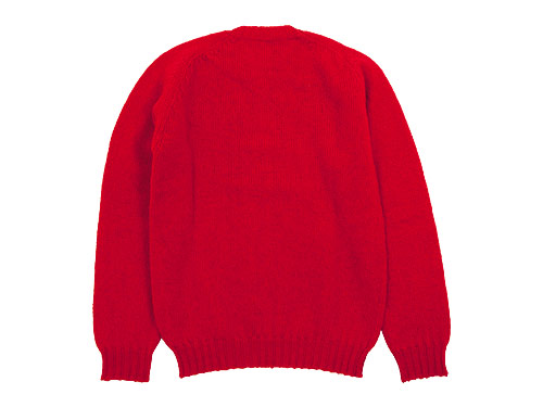 Jamieson's CREW NECK KNIT SOLID