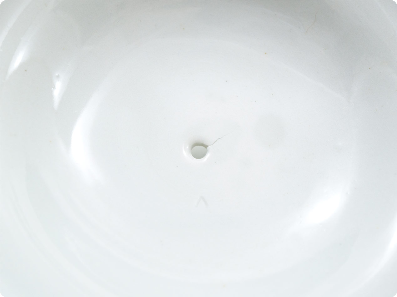 ARABIA 蓋つきポット ホワイト