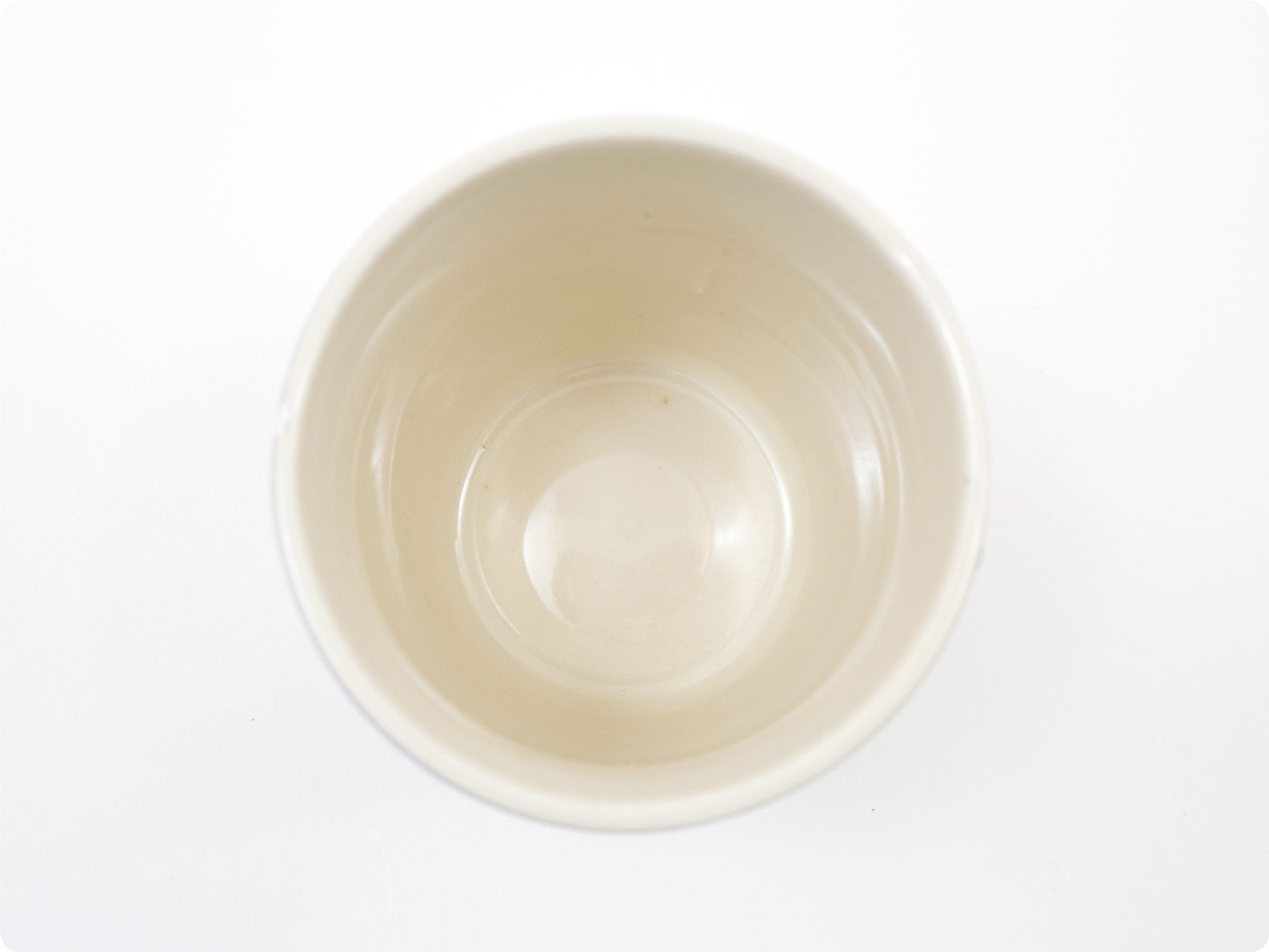 ARABIA 陶器タンブラー ブルーライン