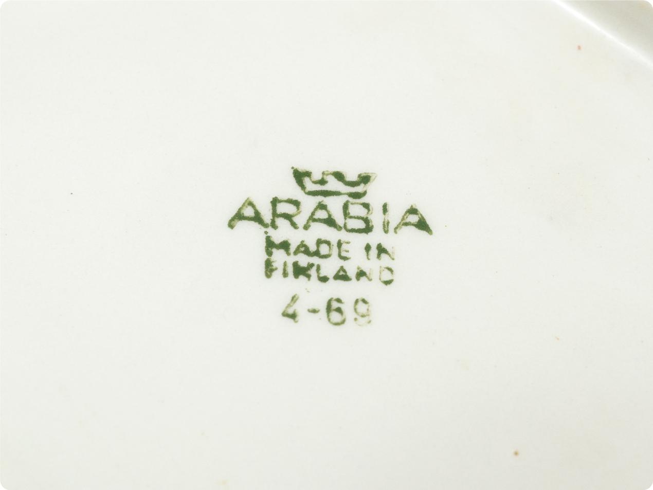 ARABIA バターケース