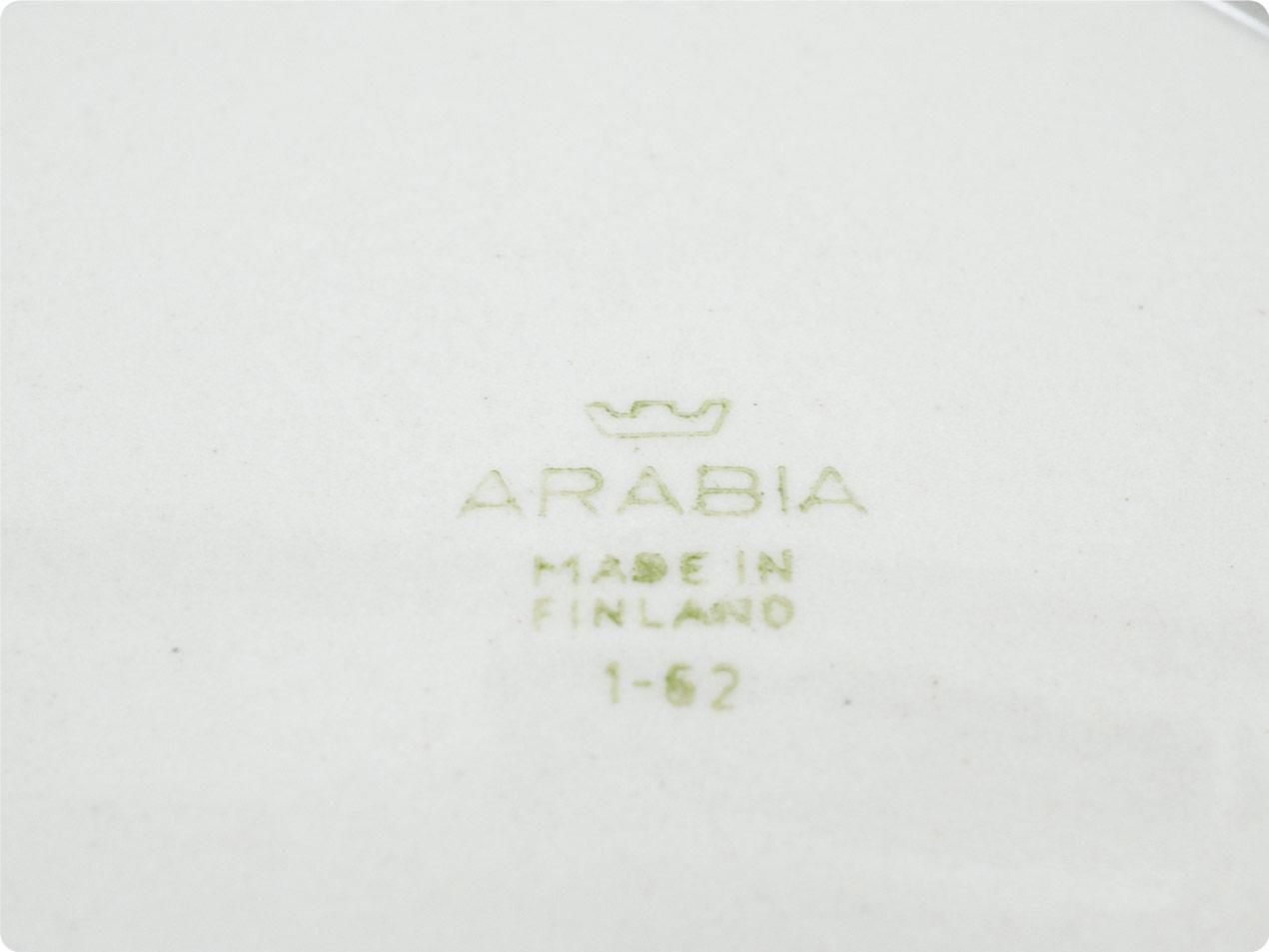 ARABIA プレート グレー
