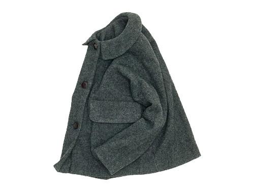 Lin francais d'antan Clouet(クルーエ) Round Collar Jacket