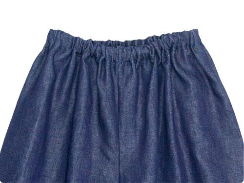 Lin francais d'antan Pauly gathered pants Hemp