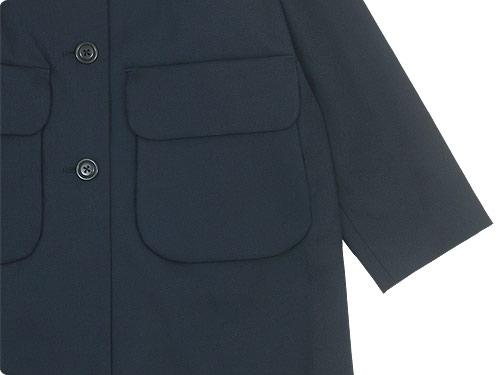 Lin francais d'antan Carra(カルラ) Round Collar Coat