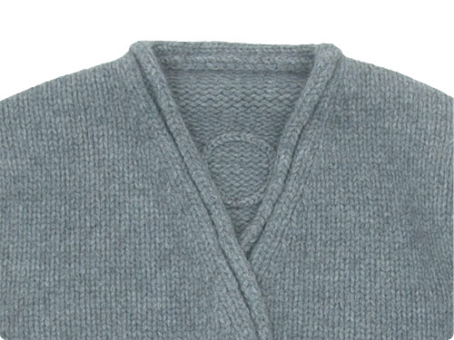 Lin francais d'antan Degas(ドガ) Wool Cashmere Knit Cardigan