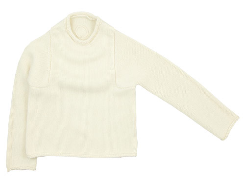 Lin francais d'antan Mullan(マラン) Wool Cashmere Knit