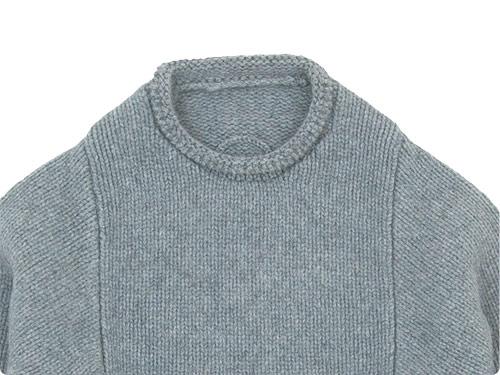 Lin francais d'antan Mullan(マラン) Wool Cashmere Knit