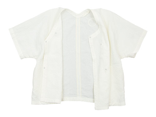Lin francais d'antan Gir(ジール) Half Sleeve Jacket