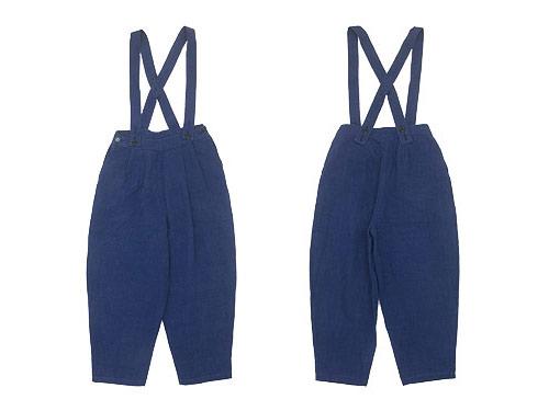 Atelier d'antan Dermit(デルミット) Suspenders Tuck Pants