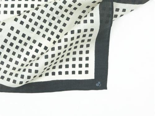Lin francais d'antan Rothko(ロスコ) Silk Scarf