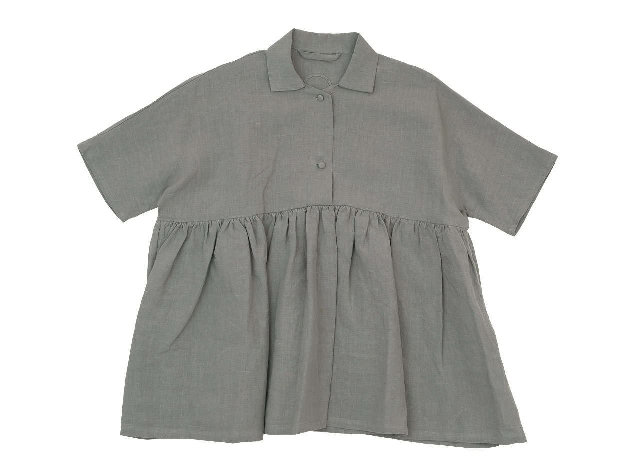 Lin francais d'antan Breton(ブルトン) Short Sleeve Shirts