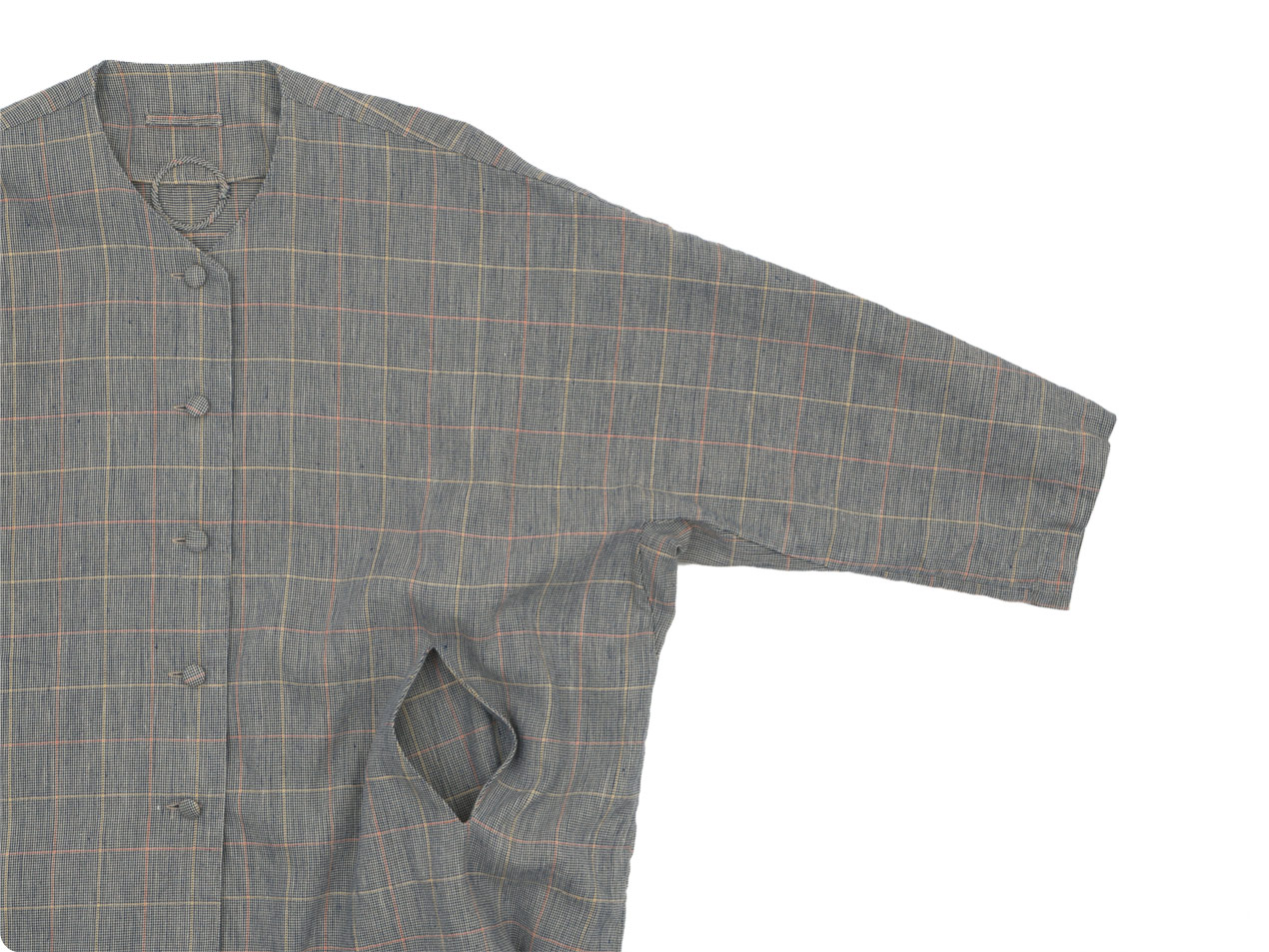 Lin francais d'antan Verlaine(ヴェルレーヌ) Oversaized Coat