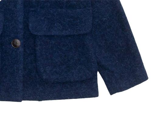 Lin francais d'antan Clouet Round Collar Jacket