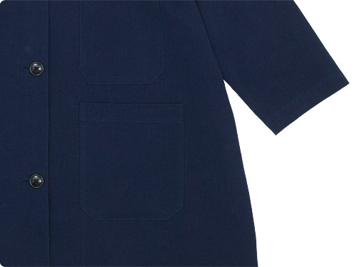 Lin francais d'antan Godard(ゴダール) Cotton Coat