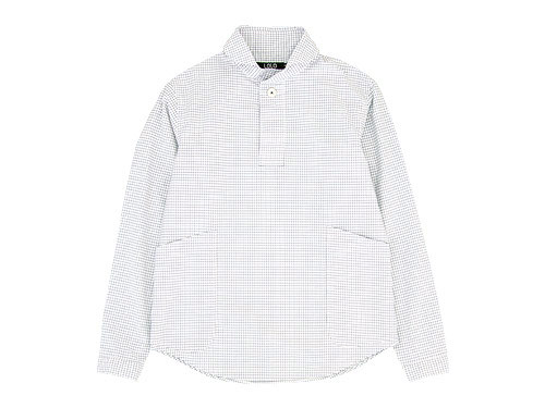 LOLO プルオーバーシャツ グラフチェック / 比翼シャツ グラフチェック