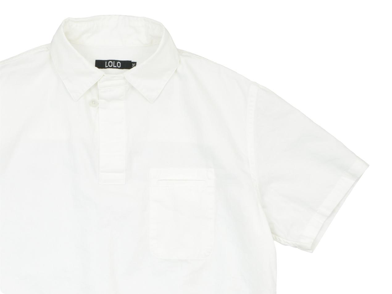 LOLO プルオーバー 半袖シャツ