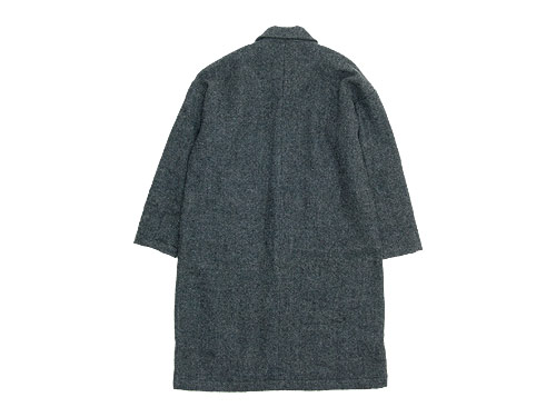 maillot shetland wool gown coat