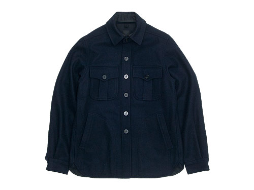 maillot b.label navy cpo jacket / melton PEA jacket / navy duffle coat