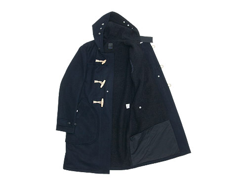 maillot b.label navy duffle coat
