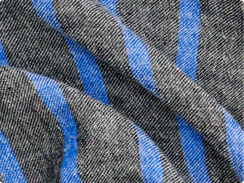 【別注】 maillot linen wool pull vest STRIPE